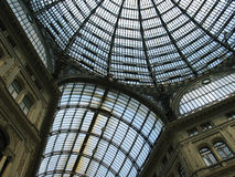 Napoli, Galleria Umberto. This is King Umberto's Gallery in Naples, Italy Royalty Free Stock Photo