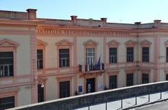 Napoli - Istituto Tecnico Commerciale da Corso Vittorio Emanuele