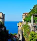 Napoli Italië van Sorrento royalty-vrije stock afbeeldingen