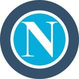 Napoli italian football club logo Stock Photography