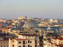 Napoli, Italien Wunderbare Landschaft auf der Stadt und seinen Bezirken Lizenzfreies Stockbild