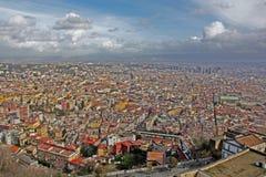 Napoli, Italy. View of Napoli city, Italy stock photo