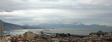 Napoli, la baia Fotografia Stock Libera da Diritti
