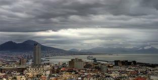 Napoli, la baia Immagini Stock