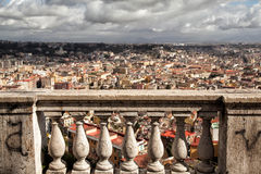 Napoli, lanscape from Saint Martino Royalty Free Stock Photography