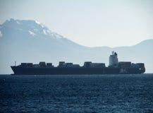 Napoli - merkantil da via Caracciolo Royaltyfri Bild