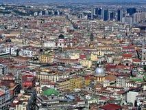 Napoli panorama Royaltyfri Foto
