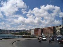 Napoli, panorama Fotografie Stock