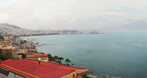 Napoli panorama Royalty Free Stock Image
