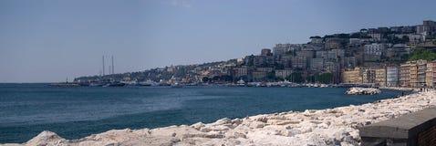 Napoli, passeggiata Immagini Stock