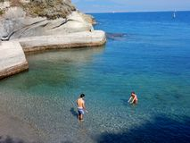 Napoli - Riva di Gaiola Royalty Free Stock Images