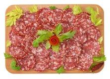 Napoli salami Royalty Free Stock Photo