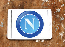 Napoli soccer club logo Royalty Free Stock Photography