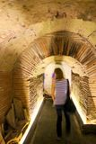 Napoli Sotterranea υπόγεια - ΙΙ-Νάπολη-Ιταλία στοκ φωτογραφίες με δικαίωμα ελεύθερης χρήσης