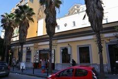 Napoli - Stazione della Funicolare Centrale in Corso Vittorio Emanuele