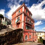 Napoli trappa av helgonet Martino Royaltyfri Bild