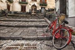 Napoli trappa av helgonet Martino Royaltyfria Foton