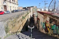 Napoli - Vicolo di Santa Lucia al Monte da Corso Vittorio Emanuele