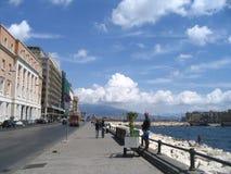 Napoli, vie Fotografie Stock Libere da Diritti