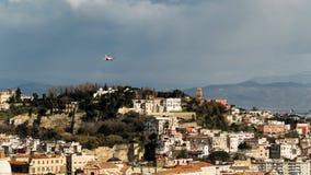 Napoli von oben Stockfotografie