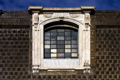 Napoli  and the window Royalty Free Stock Photography