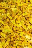 Napolitains巧克力待售在雀巢工厂在瑞士 免版税库存图片