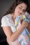napping женщина стоковое изображение rf