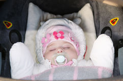 Napping Sweetheart Stock Image