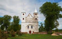 Naprawa mały kościół zdjęcia stock