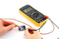 Naprawa mikro elektronika zdjęcie royalty free