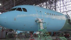 Naprawa samolotu kadłub Kolor kadłub samolotu alyet zdjęcie wideo