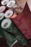 naprawa wallpapers Klasyczny wnętrze Zdjęcia Stock