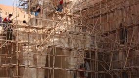 Naprawia świątynię w Bagan zdjęcie wideo
