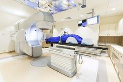 Napromienianie terapia dla nowotworu fotografia stock