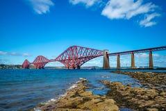 Naprzód most przez Firth Edinburgh Naprzód wewnątrz Obrazy Stock