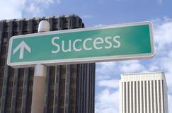 naprzód sukces Fotografia Stock