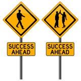 naprzód sukces ilustracji