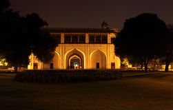 Naqqar Khana also called as drum house of red fort Royalty Free Stock Photography