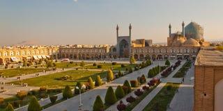 Naqsh-e Jahan广场在Esfahan 免版税库存照片