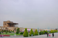 NAQSH-E JAHAN SQUARE ISFAHAN, IRAN Stock Photo