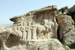 Naqsh-e Rajab Stock Photography