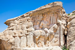 Naqsh-e Rajab,  part of the Marvdasht cultural complex. Iran Stock Photography