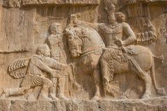 Naqsh-e Rostam,古老大墓地在伊朗 库存图片