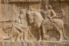 Naqsh-e Rostam, ancient necropolis in Iran Stock Image