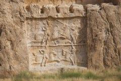 Naqsh-e Rostam, ancient necropolis in Iran Stock Images