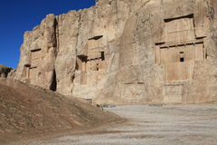 Free NAQSH-E ROSTAM - Grave Of King Daeiros And Xerxs Royalty Free Stock Image - 18431746