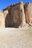 NAQSH-E ROSTAM - Sepulcro de rey Daeiros y Xerxs Fotografía de archivo