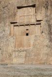 NAQSH-E ROSTAM - Tomba del re Daeiros e Xerxs Fotografie Stock Libere da Diritti