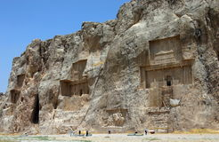 Naqsh-e Rostam, Tombs of Persian Kings, Iran Royalty Free Stock Images