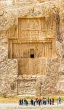 Naqsh-e Rustam ancient necropolis Stock Image